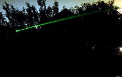 kekuatan green laser dapat menembus pepohonan